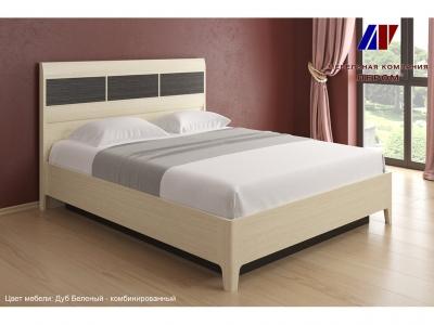 Кровать с подъемным механизмом КР-1763 1600х2000 Дуб Беленый - комбинированный
