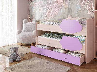 Кровать Соник с ящиком ирис