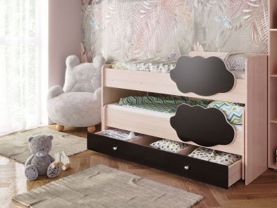 Кровать Соник с ящиком венге