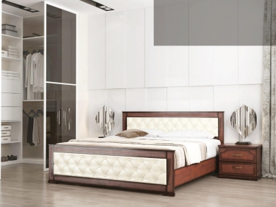 Кровать Стиль 2 с мягкой спинкой