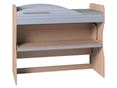 Кровать-трансформер 2 двухъярусная Калейдоскоп Серая радуга