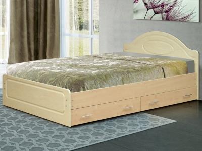 Кровать Венеция 1 матовая с ящиками
