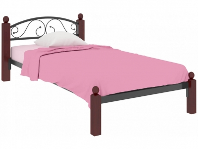Кровать Вероника Мини Lux чёрная