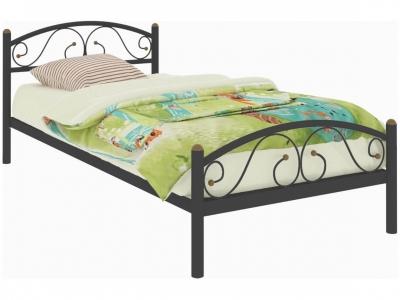 Кровать Вероника Мини Plus чёрная