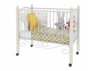 Кровать Женечка Lux Белая