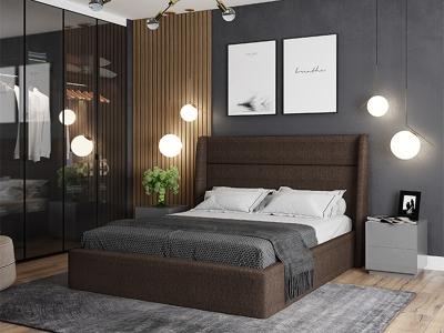 Кровать Бруклин коричневый