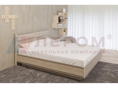 Кровать c подъемным механизмом КР-1004 1800х2000 Гикори Джексон светлый