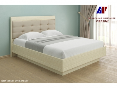 Кровать КР-1853 1600х2000 Дуб Беленый