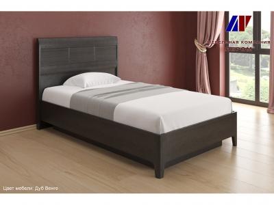 Кровать КР-1861 1200х2000 Дуб Венге