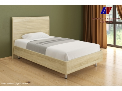 Кровать КР-2801 1200х2000 Дуб Сонома