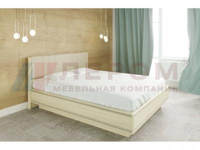 Кровать с мягким изголовьем КР-1014 1800х2000 Ясень Асахи