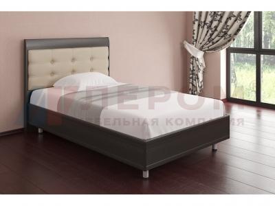 Кровать с ортопедическим основанием КР-2052 1400х2000 Дуб Венге
