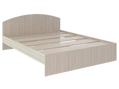 Кровать Веста 1.6 без ящика 2040x1640x700 дуб млечный