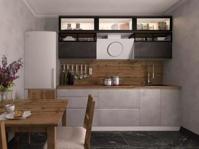 Кухня Бронкс evo Доломит-Бетон