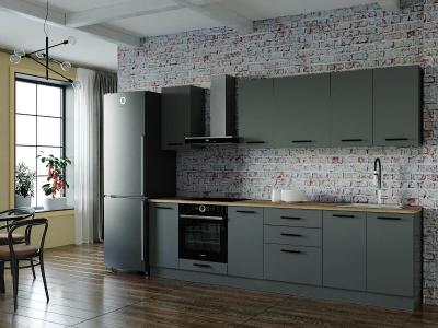Кухонный гарнитур Антрацит-2800