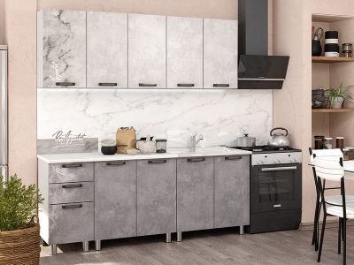 Кухонный гарнитур Bon Appetit 2000 Серый камень
