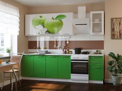 Кухонный гарнитур Риал К-81-зеленый 2000