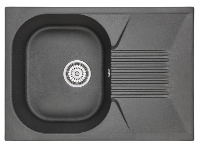 Кухонная мойка Granula 7002 Черный
