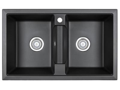 Кухонная мойка Granula 8101 Черный