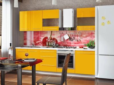 Кухонный гарнитур Ассорти Лимон 3,0м