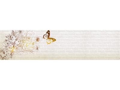 Кухонный фартук Тиснение бабочки