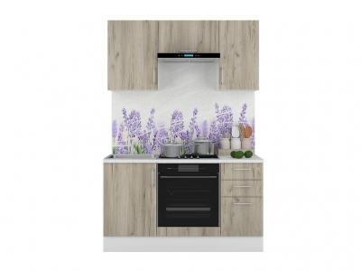 Кухонный гарнитур Европа 1500 Серый Крафт