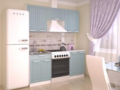 Кухонный гарнитур Прованс Роялвуд голубой 1800