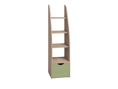 Лестница 2 Калейдоскоп Зеленая радуга 404х396х1561