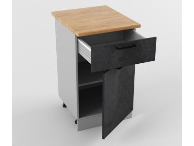 Напольный шкаф Н 500 1 ящик 1 дверь 850х500х600 Лофт