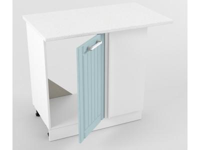 Нижний шкаф прямой угловой 850х1000х600 Прованс Роялвуд голубой