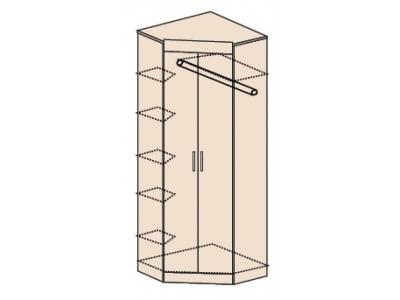 Ника Н5 Шкаф угловой без зеркала 803х803х2221