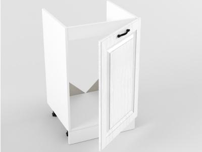 Нижний шкаф Н 500 мойка 1 дверь 822х500х473 Белый Вегас