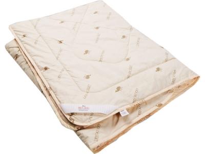Одеяло стеганое на верблюжьей шерсти всесезонное