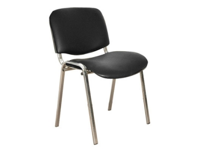 Офисный стул Изо хром кожзам