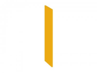Панель боковая декоративная верхняя ПБд-В_72 Ассорти Лимон