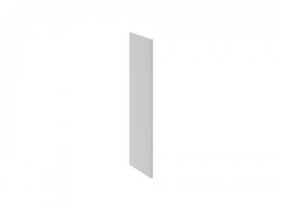 Панель боковая декоративная верхняя ПБд-В_72 Скай Голубая