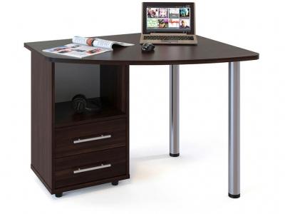 Письменный стол Сокол КСТ-102 левый Венге