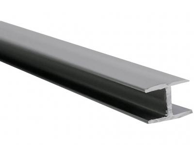 Планка для стеновой панели соединительная Сокол Серый