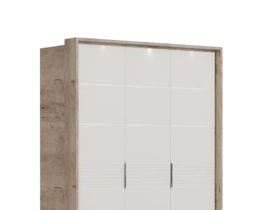 Подсветка портала 3-х дверного шкафа Джулия
