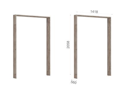 Портал шкафа 3-х дверного Джулия