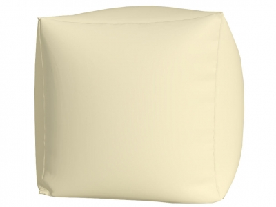 Пуфик Куб макси нейлон белый