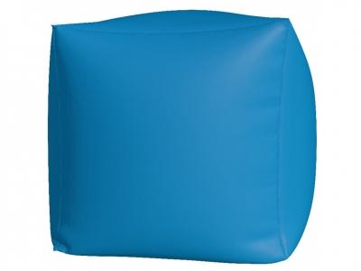 Пуфик Куб макси нейлон голубой