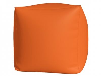 Пуфик Куб макси нейлон оранжевый