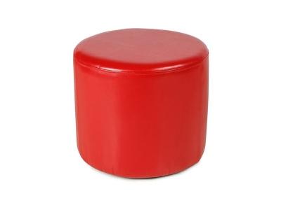 Пуф круглый ПФ-5 Красный