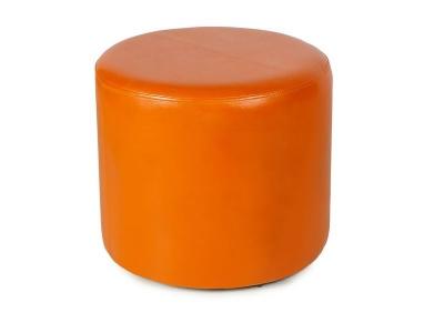 Пуф круглый ПФ-5 Оранжевый