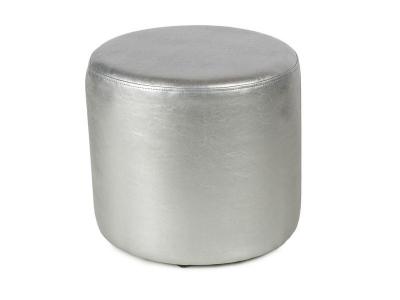 Пуф круглый ПФ-5 Серебро