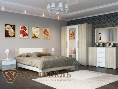 Спальня Лагуна-2 ЛДСП