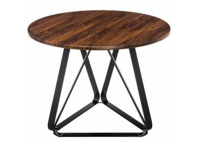 Стол деревянный Vogo brown - black