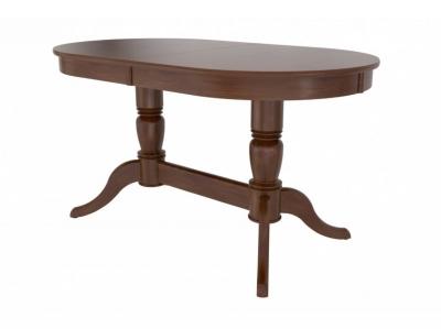 Стол из массива Фламинго 5 темный орех