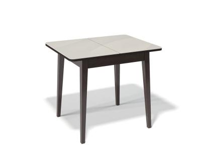 Стол Kenner 900 M венге/стекло крем